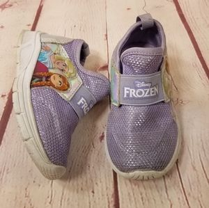 Disney Frozen slip-on sneakers 6